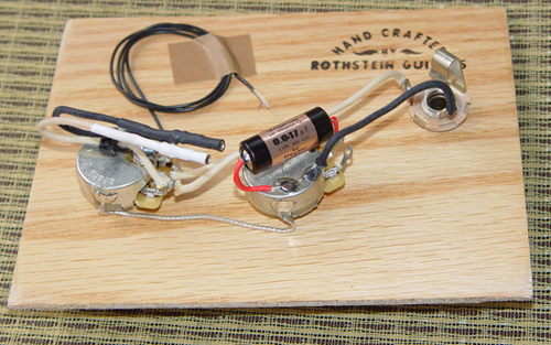 Prewired P-Bass Assembly (Passive): Rothstein Guitars