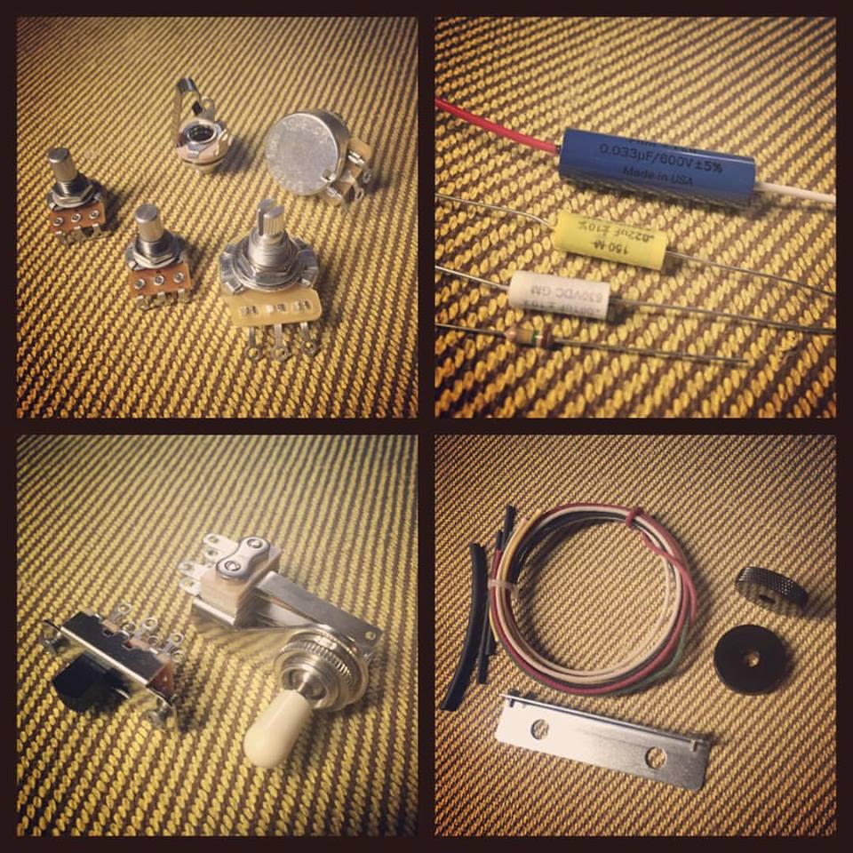 Jazzmaster Jaguar Kits Rothstein Guitars Series Wiring Diagram Premium Diy Kit