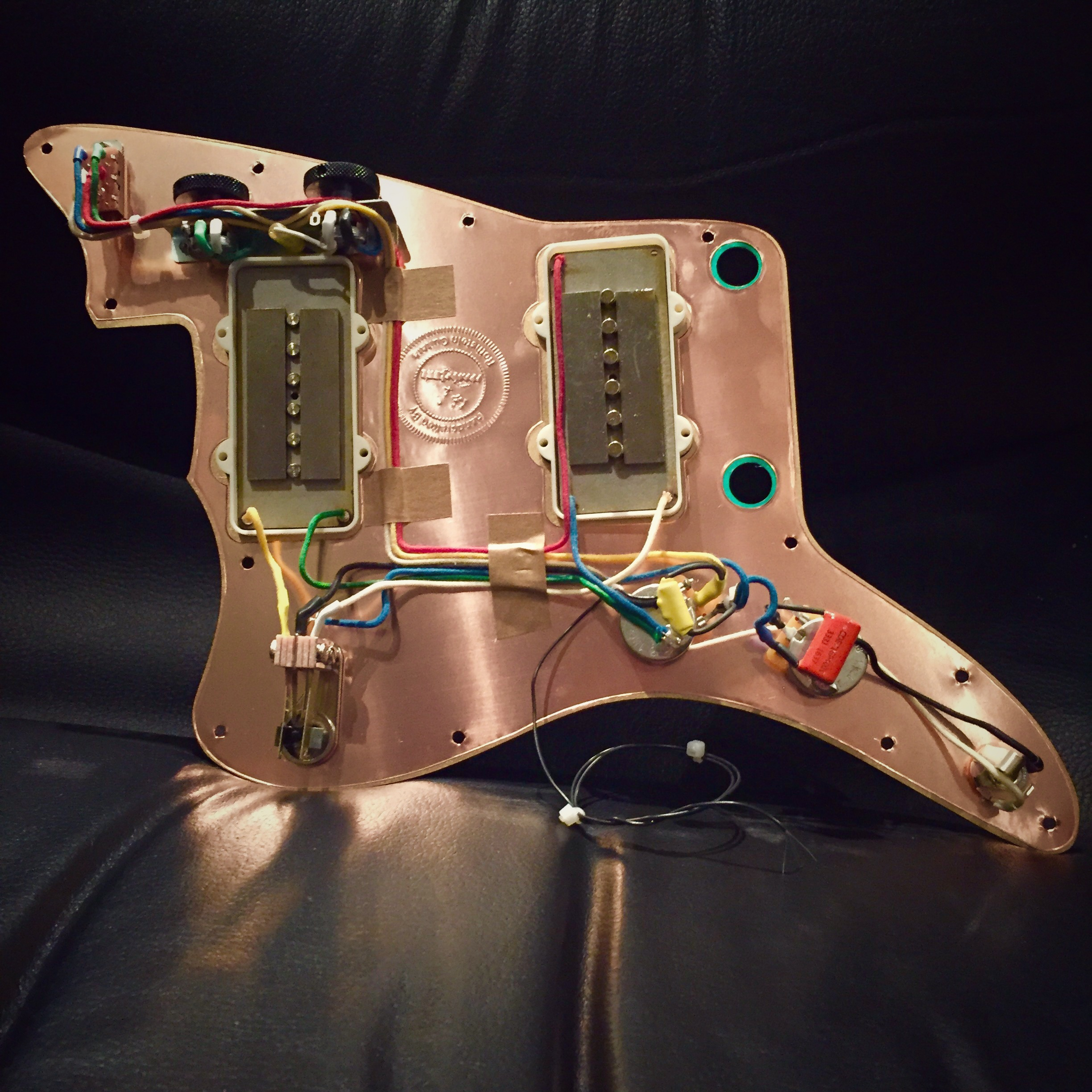 Jazzmaster: Rothstein Guitars on gibson les paul wiring harness, fender stratocaster wiring harness, p bass wiring harness, les paul custom wiring harness, tele wiring harness, fender jaguar wiring harness,