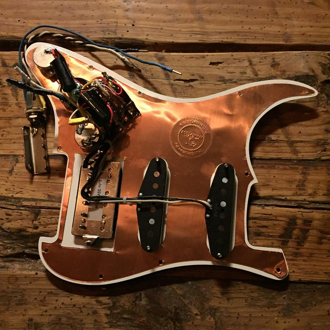Prewired Strat Assembly H S Rothstein Guitars Hss Wiring Harness