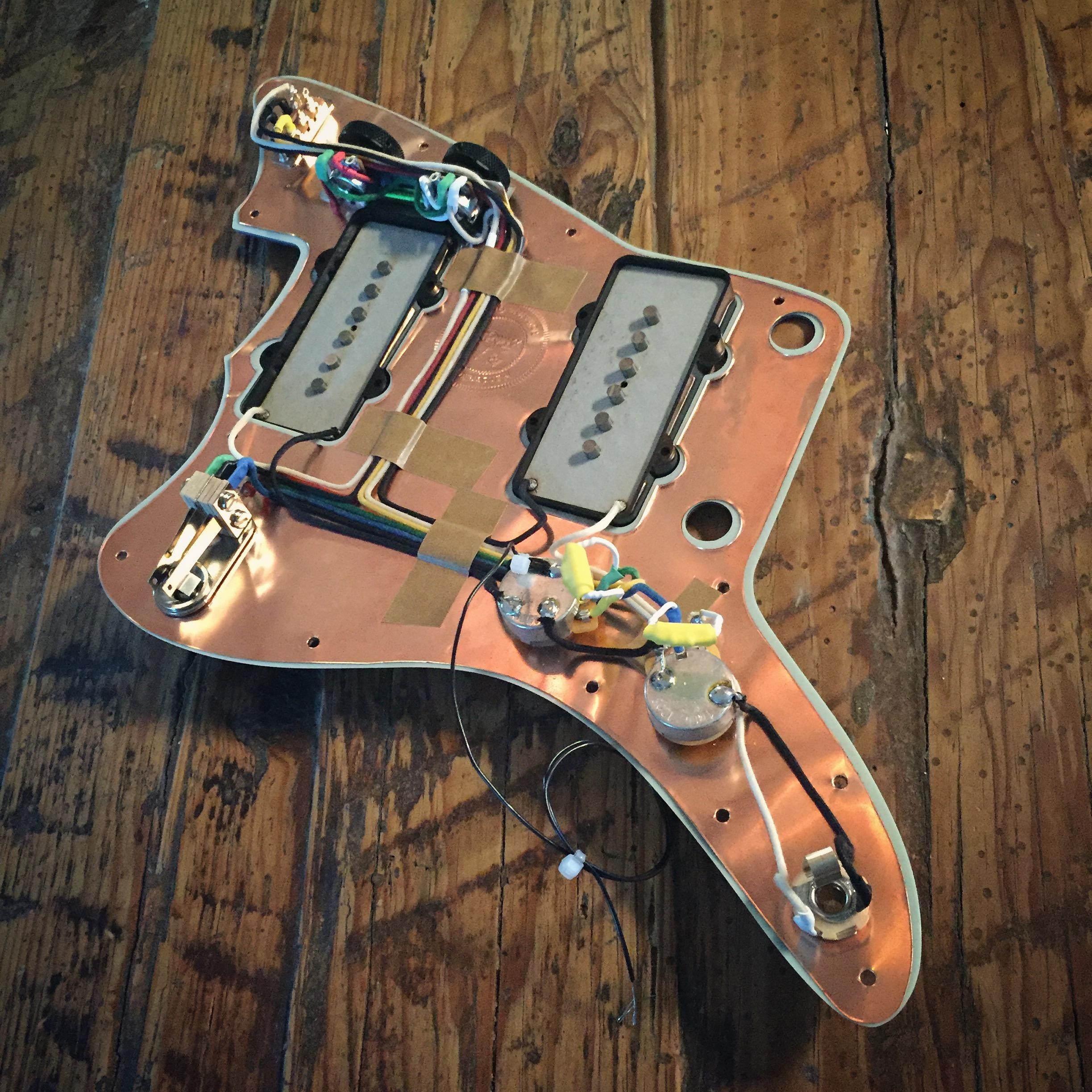 jazzmaster rothstein guitars Wiring Diagram Jazzmaster Free Picture prewired jazzmaster stb super mod Jazzmaster Schematic