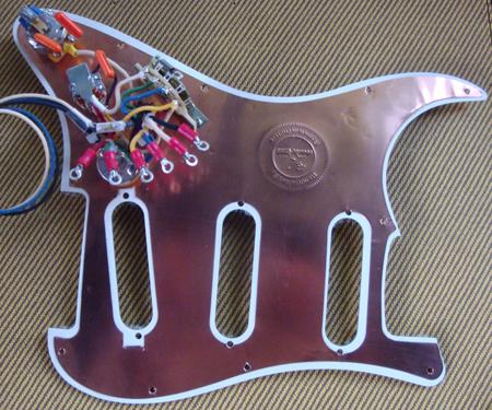 Fantastic Voodoo Tone Monster Strat Pickguard No Pickups Rothstein Guitars Wiring Cloud Hisonuggs Outletorg