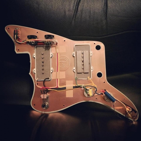 Jazzmaster Vintage 1958 Wiring: Rothstein Guitars on gibson les paul wiring harness, fender stratocaster wiring harness, p bass wiring harness, les paul custom wiring harness, tele wiring harness, fender jaguar wiring harness,