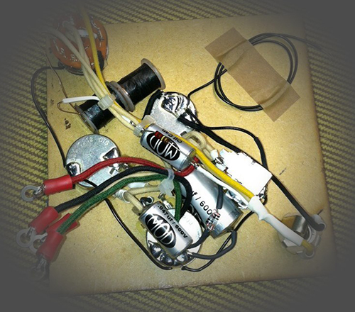 we might be the only builder offering a prewired option for the gibson eb-3  bass  our circuit is based predominantly on the 70s eb-3 electronics,