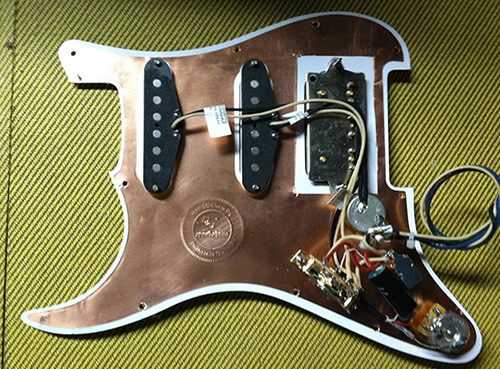 Rothstein Guitars  U2022 Prewired Strat Assemblies