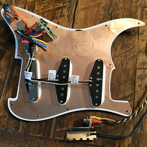 Rothstein Guitars bull Prewired Strat Assemblies